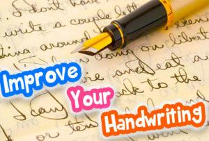handwriting improvement, handwriting